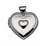 Afbeelding van Best Basics 145.0095.00 Zilveren Hanger Medaillon 16 x 14 mm