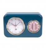 Afbeelding van PT Nostalgia tafelklok met timer (Kleur: blauw)