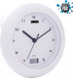 Image of Balance Time Bathroom clock with thermometer