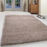 Afbeelding van Hoogpolig vloerkleed Ancona Creme/Wit 240x340cm Adana Carpets