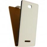 Afbeelding van Mobilize Ultra Slim Flip Case Sony Xperia C3 White