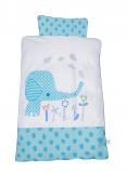Image of Baby Dan Baby Bedlinen Elefantastic Blue