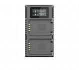 Afbeelding van Nitecore FX2 Pro USB oplader voor Fujifilm batterij NP T125 zaklamp