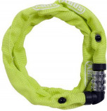 Image of Abus 1200 Combination Chain Lock (Frame colour: yellow green)