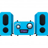 Afbeelding van Bigben Microset Radio/CD Speler Blauw stereo set