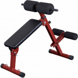Afbeelding van Rugtrainer Best Fitness Hyperextension & Abtrainer BFHYP10