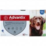 Bild av Advantix Dewormer 400/2000 Spot On Dog 25 40kg 24 Pipettes