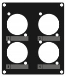 Abbildung von Caymon CASY203/B Blende 4x D S 2 Space