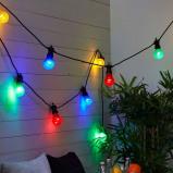 Afbeelding van Best Season kleurrijke, 10 delige led lichtketting Circus, kunststof, energie efficiëntie: A+, L: 450 cm, H: 14 cm