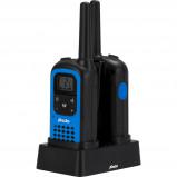 Afbeelding van Alecto FR 125 2 delige set Blauw walkie talkie