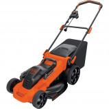 Afbeelding van Black & Decker LM2000 QS Elektrische Grasmaaier Oranje/Zwart