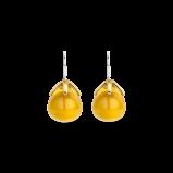 Abbildung von TI SENTO Milano Ohrring Rhodiniertem Sterlingsilber mit gelb Vergoldung Gelb Damen 7769TY