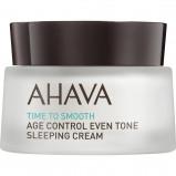 Image of AHAVA Age Control Even Tone Sleeping Cream 50 ml