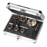Afbeelding van Silverline 11 Delige Diamant Gatenzaag Set (19 57 mm Diameter )