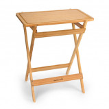 Afbeelding van barbecook houten tafel70x41,5x81 cm