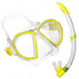 Afbeelding van Aqua Lung Sport Duetto LX + Airflex Purge Snorkelset Geel