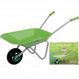 Afbeelding van Esschert Design Kruiwagen voor Kinderen Groen KG97