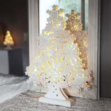 Afbeelding van Best Season 45 cm hoge LED raamkandelaar Winterbaum, voor woon / eetkamer, hout, energie efficiëntie: A+, B: 35 cm, H: