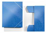 Afbeelding van 3 klepsmap Leitz WOW A4 karton roze Bureau Sets