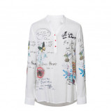 Afbeelding van Desigual blouse met printopdruk
