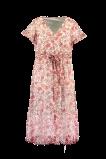 Image de FSTVL by MS Mode Mesdames Maxi robe à imprimé floral Rouge