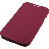 Afbeelding van Rock Big City Leather Side Flip Case Samsung Galaxy S4 I9500/I9505 Ros