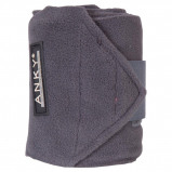 Image de Anky Bandages Basic Fleece Jeu de 4 Graphite 3,5m