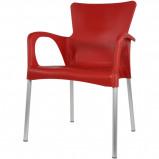 Afbeelding van Bella terrasstoel rood