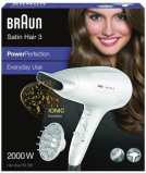 Afbeelding van Braun Haardroger Satin Hair 3 HD 385 Power Perfection + Diffusor Bra