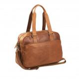 Imagem de Chesterfield Leather Shoulder Bag Cognac Adelaide