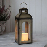 Afbeelding van Best Season kleine decoratielamp Alissa 28 cm, metaal, glas, 0.02 W, energie efficiëntie: A+, L: 11 B: H: cm