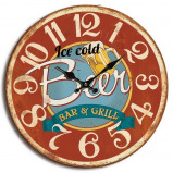 Image of Balance Time Beer wall clock