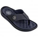 Afbeelding van Cartago Santorini Slippers Heren Black Dark Grey Blue EU 43