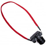 Afbeelding van DSPTCH Braided Camera Sling Red Small