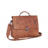 Bilde av Chesterfield Leather Briefcase Cognac Matthew