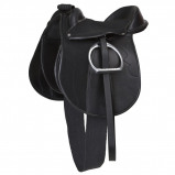 Abbildung von Covalliero Sattelset Pony Economy Schwarz 110cm