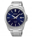 Afbeelding van Seiko SGEH47P1 Herenhorloge blauwe wijzerplaat saffierglas 41 mm