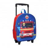 Afbeelding van Brandweerman Sam 3D trolley rugzak