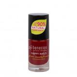 Afbeelding van Benecos Vegan Nail Polish Cherry Red Nagellak Make up