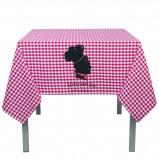 Abbildung von 1 St. Polyester Tischdecken mit Logo 137x137cm ab 7 Tagen