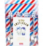 Afbeelding van Blond Amsterdam set van 4 theelepels Delfts