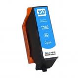 Afbeelding van Geschikt Epson 202XL inktcartridge cyaan (inktcartridges) Alleeninkt