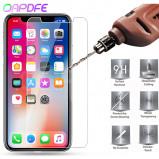 Εικόνα του 0.22mm 9H Tempered Glass on the For iPhone 8 7 6 6S Plus 5 5S SE 4S Screen Protector For iPhone X XR XS Max Protective Flim Case