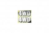 Afbeelding van 4WD Sticker