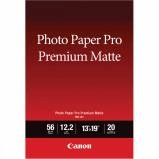 Billede af Canon fotopapir Premium matte A3+ (330 x 483mm) 210g, 20 ark (8657B007)
