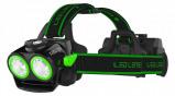 Afbeelding van LED Lenser XEO 19R Hoofdlamp in blister Oplaadbaar Groen 2000Lm