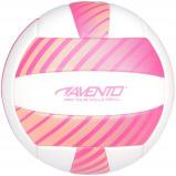 Afbeelding van Avento beachvolleybal kunstleer maat 5 wit/roze