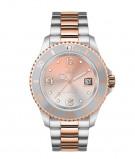 Afbeelding van ICE Watch IW016769 Steel Black Sunset Rosé horloge Medium herenhorloge Meerkleurig