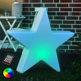 Afbeelding van 8 Seasons decoratieve LED ster Shining Star, 60 cm, polyethyleen, energie efficiëntie: A