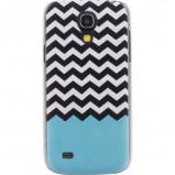 Afbeelding van Xccess Cover Apple iPhone 4/4S Turquoise Stripes